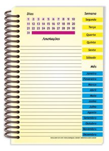 Agenda Ensino Fundamental